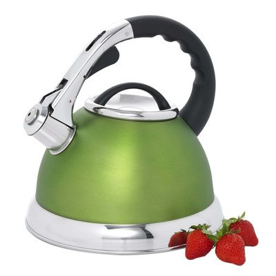 Camile 3-qt. Whistling Tea Kettle  Color: Chartreuse