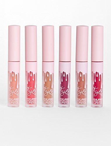 Kylie Cosmetics - The Birthday Collection - Liquid Lipsticks - Mini Kit Velvet