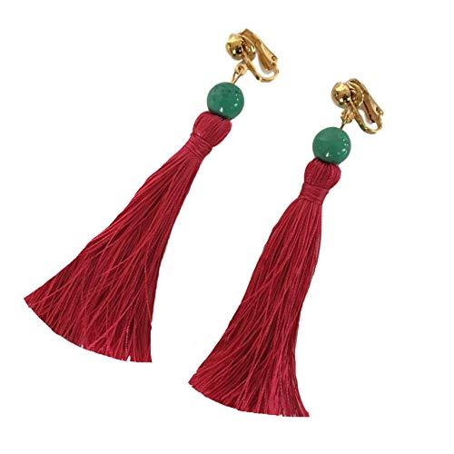 Big Little Lies Clip On Tassel Earrings]()