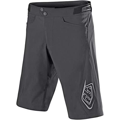 - Troy Lee Designs Flowline Men's MTB BMX Bicycle Shorts W/Liner - Charcoal / 32