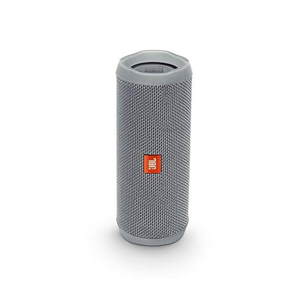 JBL Flip 4 - enceinte Bluetooth Portable Robuste - Étanche Ipx7 pour Piscine & Plage - Autonomie 12 Hrs - Qualité Audio JBL - Gris 1