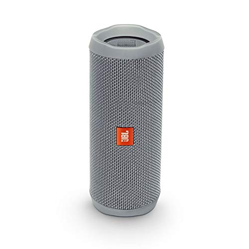 (JBL Flip 4 Bluetooth Portable Stereo Speaker - Grey)
