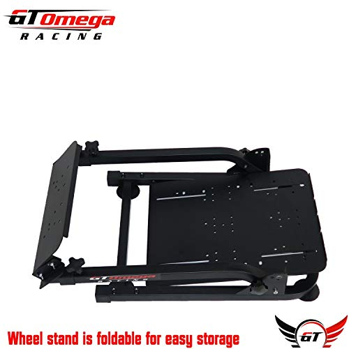 GT Omega Steering Wheel Stand PRO for Thrustmaster T150 Force Feedback  Racing Wheel PS4 & Pedals, Supporting TX, Xbox, Fanatec - Foldable,