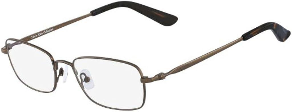 Calvin Klein Brillengestelle Ck7495 319-53-18-140 Monturas de gafas, Verde (Grün), 53.0 para Hombre
