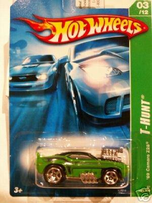 Mattel Hot Wheels 2007 Treasure Hunt 1:64 Scale Green 1969 Chevy Camaro Z28 Die Cast Car ()