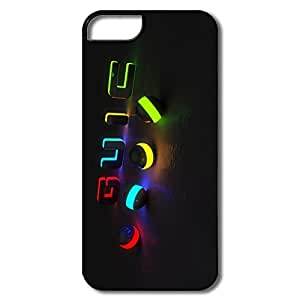 Custom Cool Hard Plastic Scratch Resistant Colors Iphone 5s Cases