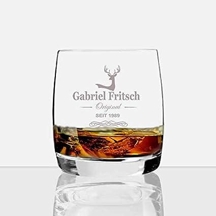 Whisky cristal con nombres * Gabriel *: Amazon.es: Hogar