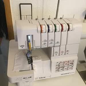 Sewmaq Coverlock & Overlock SW4334 2/3 - Máquina de coser con ...