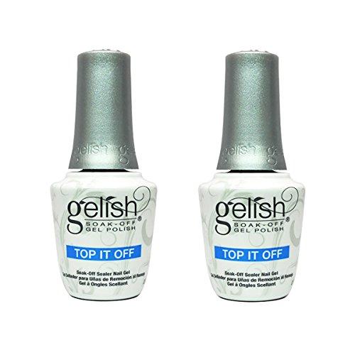 Gelish Harmony 0.5 Fluid Oz. Soak-Off Top-It-Off Sealer Gel