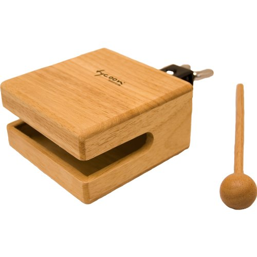 Tycoon Percussion 5 Inch Temple Wood Block