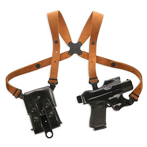 - Galco JR212B Jackass Rig Shoulder System for 1911s - RH, Black
