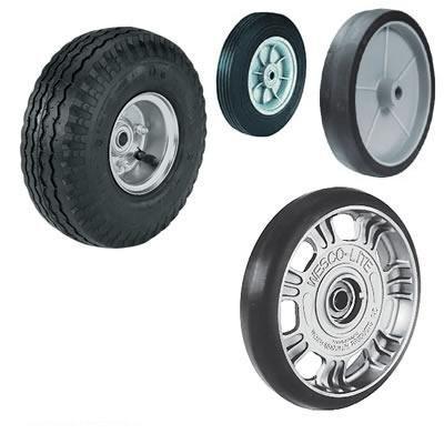 Wesco Solid Rubber Wheel
