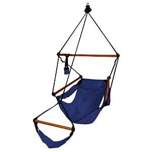 Amazon.com: Hammaka hamaca colgante silla de aire: Jardín y ...