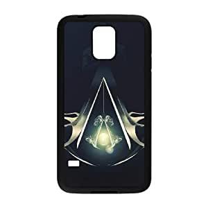 SamSung Galaxy S5 phone cases Black Assassin's Creed fashion cell phone cases UYIT2279017