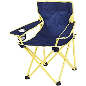 Ozark Trail Folding Kids Chair With Built In Cup Holder, Blue