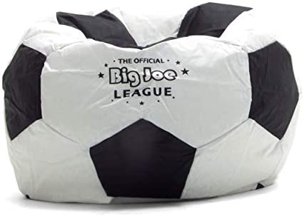 Miraculous Big Joe Soccer Bean Bag With Smart Max Fabric Gmtry Best Dining Table And Chair Ideas Images Gmtryco
