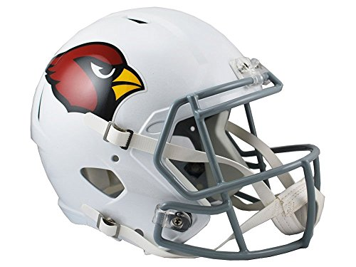 Riddell NFL Arizona Cardinals Full Size Replica Speed Helmet, Medium, Red (Riddell Face Mask)
