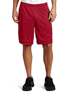 Champion Long Mesh Mens Shorts with Pockets, L-Deep Garnet (B00177IGH4) | Amazon price tracker / tracking, Amazon price history charts, Amazon price watches, Amazon price drop alerts