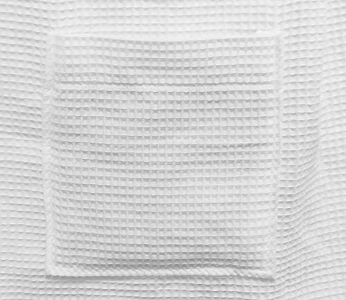 White 3XL, Spa Bath Wrap Towel for Women BY LORA Lightweight Waffle Cover Up