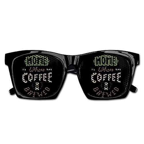Xing Stars Colorful Summer Unisex Home Where Coffee Brewed Fashion Party Costume - Sunglasses Eclipse Walmart