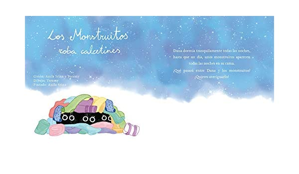 Los monstruitos roba calcetines: Cuentos infantiles (Spanish Edition) - Kindle edition by Anila Srina, Toramy Designs. Children Kindle eBooks @ Amazon.com.