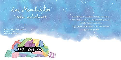 Los monstruitos roba calcetines: Cuentos infantiles (Spanish Edition) by [Srina, Anila