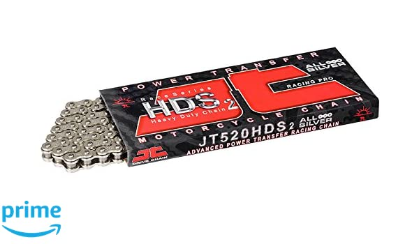 JT HDS Race Series Ultimate Competition Drive Chain Steel 120 Links for ATVs