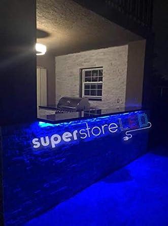 SuperStoreLED azul bajo encimera para barbacoa de cocina y ...