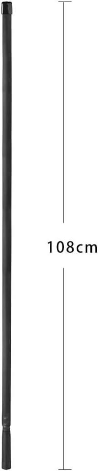 Bingfu Dual Band VHF UHF 136-520MHz 108cm Foldable CS Tactical SMA Female Ham Radio Antenna for Kenwood Wouxun Baofeng BF-F8HP UV-5R UV-82 BF-888S GT-3 Handheld Ham Two Way Radio Walkie Talkie