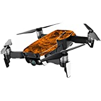 MightySkins Skin for DJI Mavic Air Drone - Burning Up | Min Coverage Protective, Durable, and Unique Vinyl Decal wrap cover | Easy To Apply, Remove, and Change Styles | Made in the USA