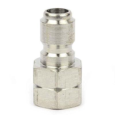 Interstate Pneumatics PW7145 Pressure Washer 3/8 inch FNPT Stainless Steel Plug 5000 PSI