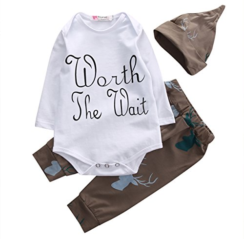 Baby-Boys-Deer-Long-Sleeve-Worth-The-Wait-Bodysuit-and-Pants-Outfit-with-Hat