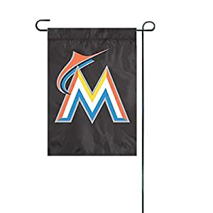 Florida Marlins Applique Garden / Window Flag MLB