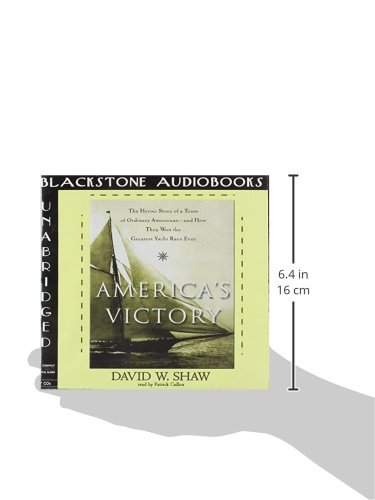 America's Victory: The Heroic Story of a Team of Ordinary Americans--And How They Won the Greatest Yacht Race Ever by Blackstone Audiobooks (Image #3)