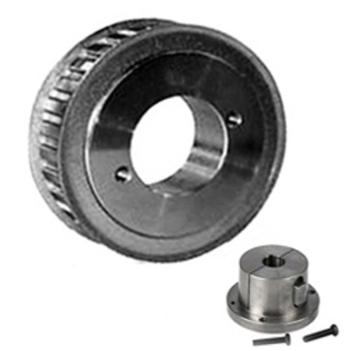 (Browning 20HH150 Steel Stock Gearbelt Pulleys with Split Taper Bushings for H150 Belts, 1/2