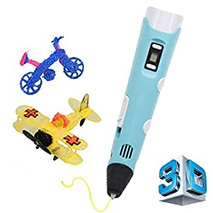 3D Printing Pen with LCD Screen, CCTRO 3D Pen Drawing Printer Pen for 3D Printing, Drawing, Doodle Model Making and 3D Modeling, With 30g PLA Filament, Perfect Gift