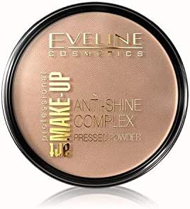 Eveline - La Luxe Press Powder Deep Beige No,36
