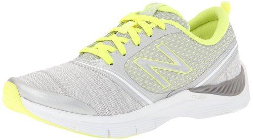 888098214253 - New Balance Women's 711 Heather Cross-Training Shoe,Grey/Yellow,11 D US carousel main 0