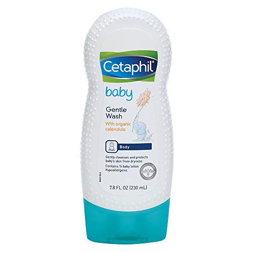 Cetaphil Baby Gentle Wash with Organic Calendula, 7.8 Oz