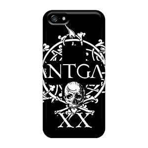 Iphone 5/5s BXU4834YmRb Support Personal Customs Attractive Green Day Pattern Anti-Scratch Hard Cell-phone Case -AlissaDubois