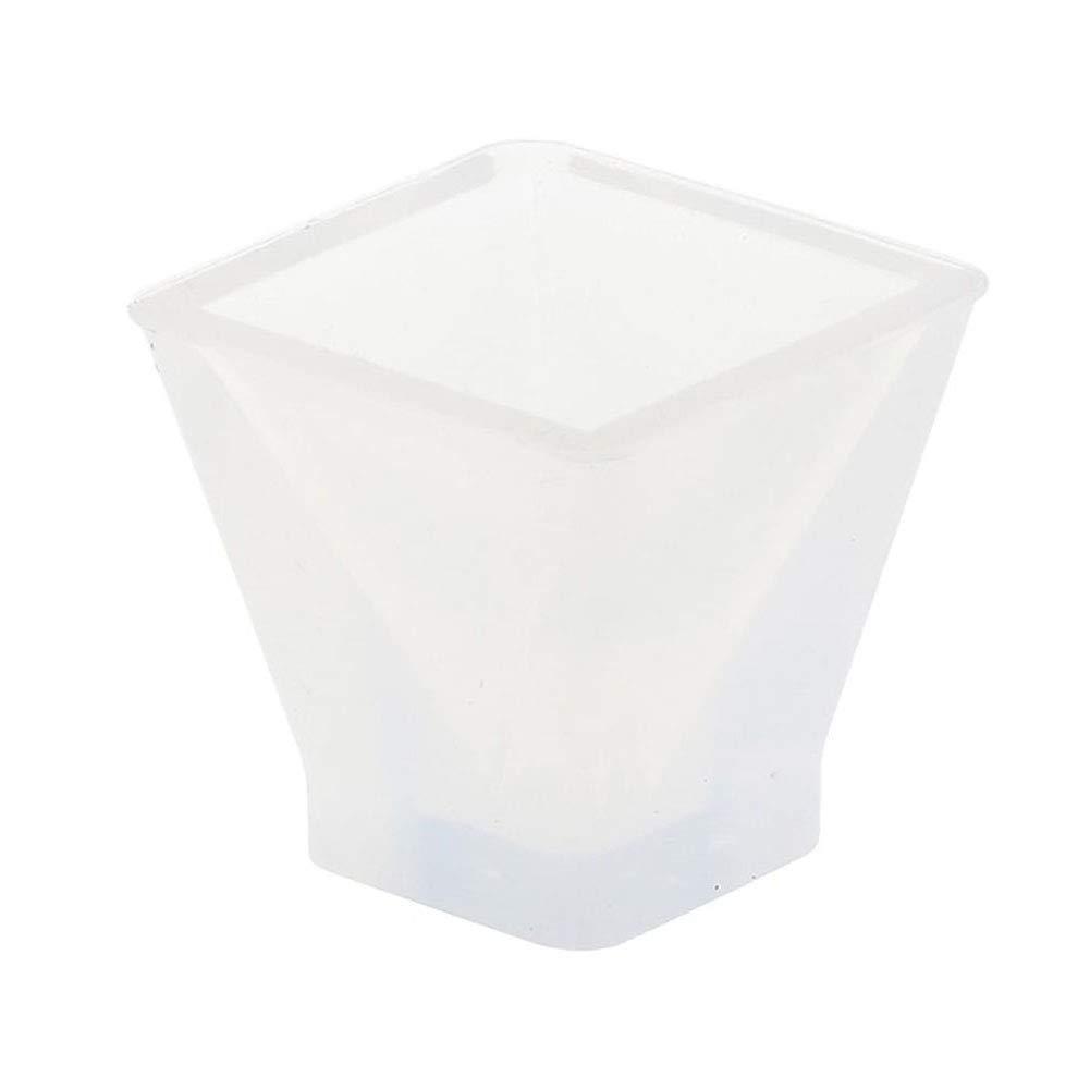 TaoNaisi 1 Molde plástico de jabón Grande Clara epoxi de Silicona del Molde de Resina de joyería de Bricolaje Artesanal de fabricación de moldes Molde de la ...