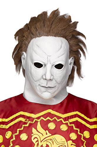 Fun World Unisex-Adult's Michael Myers-Beginning Mask, Multi, Standard]()