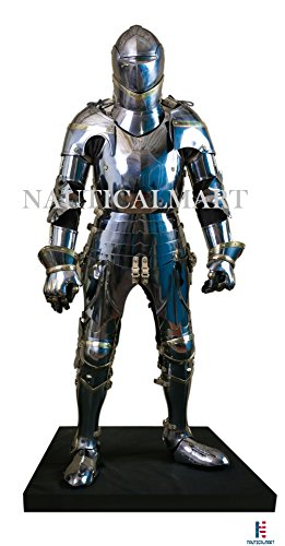 Medieval Wearable Knight Ancient Men At Arms Full Body Suit of Armor