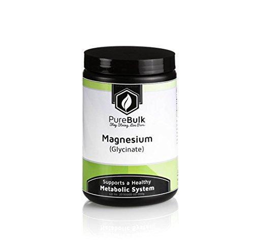 PureBulk Magnesium Glycinate Container:Tub Size:1_5kg Powder