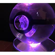 Pokemon Gyarados LED Crystal Ball SELA Light Charizard Pikachu Snorlax Mew Plush