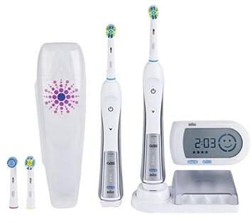 ORAL-B Cepillo de dientes eléctrico Triumph 5000 Duo Pack Edición limitada: Amazon.es: Bebé