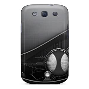 Fashionable Style Cases Covers Skin For Galaxy S3- Robot Scheme 3d