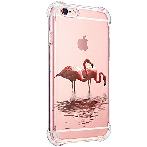 Price comparison product image iPhone 6S Plus Case,  iPhone 6 Plus Case Silicone Gel Rubber Cover Clear TPU Bumper Slim Phone Cover Case for iPhone 6 6S (Color4,  iPhone 6 / 6S)