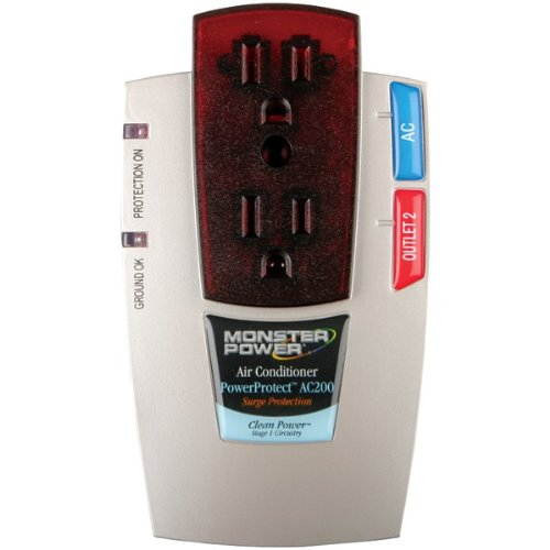 - Monster Power Mp Ap200 2-Outlet Appliance Powercenter(Tm) 200
