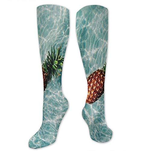 Compression Socks Underwater Pineapple Womens Winter Sock Decoration Tight Stocking For Girls Men Boys Teen